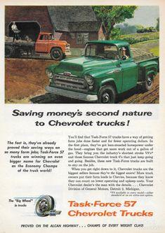 1957 Chevrolet Trucks ~ U.S.A by Michael on Flickr