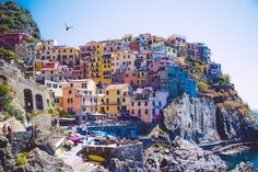 The Cinque Terre (or 5 Lands) are a little gem to visit in Italy. We are … – Travel and Tourism Trends 2019 Italy Tourism, Italy Travel, Travel Around The World, Around The Worlds, Voyage Rome, Portofino Italy, Italy Pictures, Cinque Terre Italy, Riomaggiore