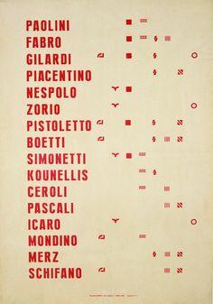 Alighiero Boetti at MoMA