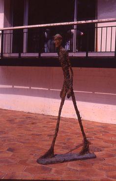 sculture by alberto giacometti in fundacion maehgt (arch. j.l.sert) - france - @gostinho