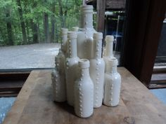 Liquor bottle craft