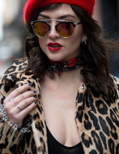 Red Lips & French Beret's | Alexandra Dieck
