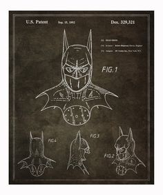 Batman 1992 Art Print