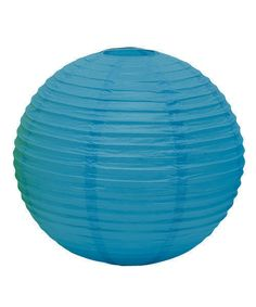 Paper Lanterns in the Color Caribbean Blue. Choice of Three Sizes and 12 Colors. Hang these round paper lanterns for decorations at wedding receptions, holiday parties, birthday celebrations, graduations, bridal showers, baby showers and all special occasions and event venues for that touch of color to your parties décor.