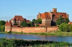 Panorama of Malbork Castle, part 4 - Marienburg (Ordensburg) – Wikipedia Foto DerHexer