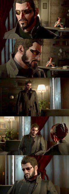 Adam Jensen, Deus Ex Mankind Divided - A Criminal Past