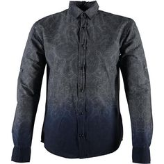 Camicia in stampa cachemire sfumata Soul Star - € 39,90 | Nico.it - #shirts #soulstar ##newarrivals #fall_newcollection #menfashion #camicia #modauomo #lotd #ootd