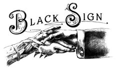 BLACK SIGN by TRICK ART GRAPHIC