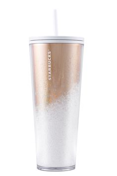 The coffee chain wants to launch the PSL earlier than ever? It's officially fall. Starbucks wants to roll out its new holiday tumblers, well ho, ho, ho. Rose Gold Water Bottle, Cute Water Bottles, Starbucks Bottles, Starbucks Tumbler, Christmas Gift Guide, Holiday Gifts, Starbucks Merchandise, Meaning Of Christmas, Iced Latte