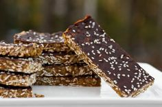 Last Minute Protein Energy Bars by Oh She Glows