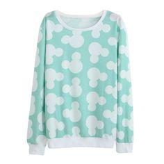 Autumn Winter Lovely Women Casual Hoodies Printed Sweatshirt Long Sleeve for Women Outwear