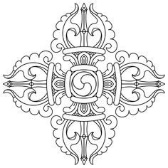 """Képtalálat a következőre: """"Drawn by Sange Wanchug"""" Tibetan Tattoo, Tibetan Art, Tibetan Buddhism, Buddhist Symbol Tattoos, Buddhism Symbols, Buddha Kunst, Buddha Art, Tibetan Symbols, Vajrayana Buddhism"""