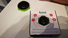 Bixi est un petit boitier connecté capable de détecter un mouvement de la main. Associé à votre smartphone il pourra le commander sans le toucher.  Derrière ce nom «Bixi» qui ne vous dira pas grand-chose sur le produit à proprement parlé, sachez que ce cache une solution gestuelle... https://www.planet-sansfil.com/bixi-pilotez-vos-appareils-connectes-simple-geste-de-main/ appareil connecté, Bixi, Bluetooth, sans fil, Wireless