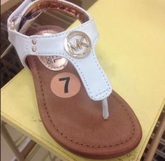 mk kids sandals michael kors on sale