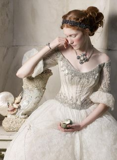 Inspired by the Metropolitan Museum's Exhibition ofLove and Art During The Italian Renaissance. Caroline Knopf