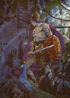 The Last Atlantean by Barry Windsor Smith, one of my favorite illustrators. And wonderful story Red Nails, with Conan the Barbarian Comic Book Artists, Comic Artist, Comic Books Art, Marvel Comics, Bd Comics, Red Sonja, Windsor Smith, Conan The Barbarian, Sword And Sorcery