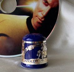 Vintage Kennedy Space Center Thimble by cynthiasattic on Etsy, $22.00