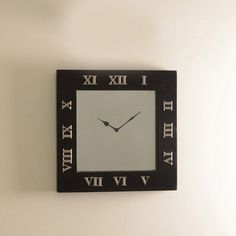 This Square Mirror Wall Clock is not only a wall clock but also a mirror. It makes a great gift for a housewarming party or any new beginnings. It is best mounted on the wall in an office lobby or home entrance. A smart decor accessory which doubles up for a quick peek to check your looks as you head in or out.