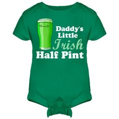 Customize funny irish St Patricks Day for your baby's first Irish party!