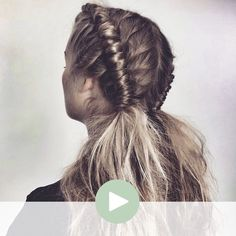 We're pretty sure you haven't seen this type of braid before by Nicci Welsh . Here on HAU2 we're obsessed with the Pipe braid! You can instantly rock this cool-girl look - watch the video of how it comes to life: We would love to see you with this look - tag or mention @thehau2 @nicciwelsh #Pipe
