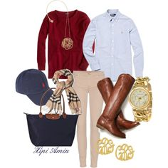 """For those Extremely Preppy Days."" by xipiamin on Polyvore"