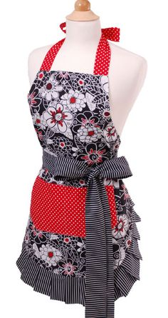 matches my kitchen!  $34.95 http://www.flirtyaprons.com/full-aprons.html#WO-10010