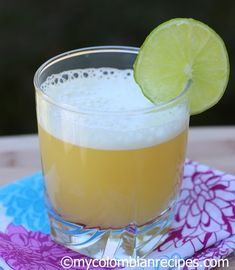 Aguardiente Sour (Orange and Aguardiente Cocktail) drank this in the mountains of Colombia! Colombian Drinks, My Colombian Recipes, Colombian Cuisine, Cuban Recipes, Refreshing Drinks, Fun Drinks, Yummy Drinks, Beverages, Drink Recipes