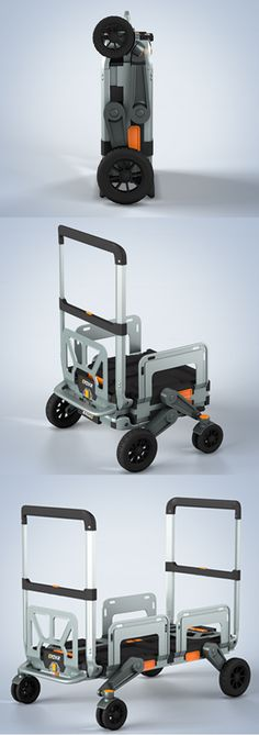 EROVR: It also converts into a Hand Truck, Flat Cart, Movers Dolly, and much more!