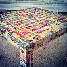 IKEA comic tables - IKEA Hackers