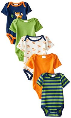 Baby Gear Baby-Boys Newborn 5 Pack Grow with Me Bodysuits Fox, Navy, 0-3 Months/3-6 Months Baby Gear http://www.amazon.com/dp/B00V4K7R92/ref=cm_sw_r_pi_dp_hJP1vb1JARM2D