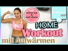 Bauch Beine Po Training für Zuhause - 20 Minuten Workout zum Mitmachen - BodyKiss - YouTube