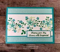stampin up 2020 sale a bration - Valentinstag Dekoration Tarjetas Stampin Up, Fun Fold Cards, Stamping Up Cards, Congratulations Card, Flower Cards, Birthday Cards With Flowers, Paper Cards, Greeting Cards Handmade, Love Cards Handmade