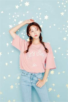 Ig: By Kooding Clothes from Korean Street Style K-POP Korean Style Street Style Casual Look Chic Wardrobe I want this Dream Look Pastel Fashion, Pop Fashion, Cute Fashion, Teen Fashion, Fashion Outfits, Korean Fashion Trends, Korean Street Fashion, Korea Fashion, Asian Fashion