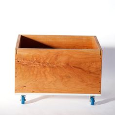 Record Crate  Record Storage  Storage on by SiosiDesignandBuild, $160.00