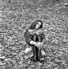 'Italian singer Milva, born Maria Ilva Biolcati, is thoughtful and seated on the…