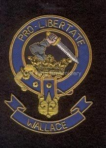 Wallace clan crest badge - Pro Libertate