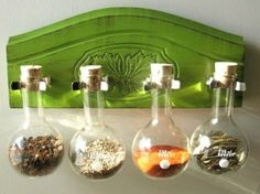I am spice rack obsessed- This page has awesome spice rack ideas!