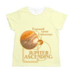 Jupiter Ascending Womens All Over Print T-Shirt  #JupiterAscending - Movie Feb 6 lots of designs teams #JupiterJones