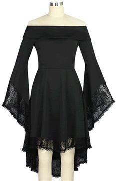 Chic Star Venom Gothic Dress
