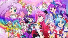 Pripara op 7 New Series, Musical, Tokyo, Anime, Paradise, Idol, Gifs, Kawaii, Dream Land