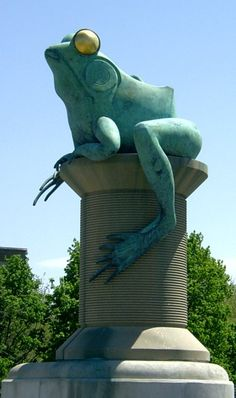 The Great Windham Frog Fight of 1754 - http://www.newenglandhistoricalsociety.com/the-great-windham-frog-fight-of-1754/
