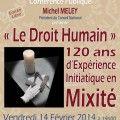 Droit Humain : 120 ans dexpérience initiatique en mixité