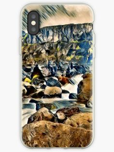 """""""Beautifull land with waterfall"""" iPhone Cases & Covers by Phillicius Skin Case, Iphone Case Covers, Waterfall, Nice, Pictures, Wall, Photos, Waterfalls, Walls"""