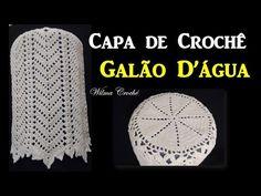 Capa de Botijão em Crochê - Parte: 2/3 Por Wilma Crochê - YouTube