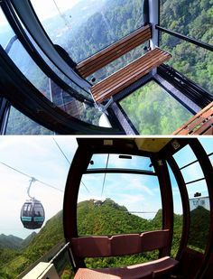 17 Tourist Activities That Would Be A Nightmare For People With A Fear Of Heights // SkyCab - Langkawi, Malaysia