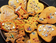 Pierniczki (przepis I) | Moje Wypieki Toffee, Gingerbread Cookies, Desserts, Food, Sticky Toffee, Gingerbread Cupcakes, Tailgate Desserts, Candy, Deserts