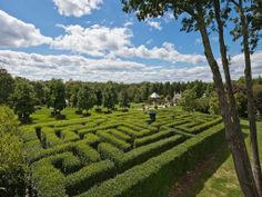 Circa-1710 Farm with 100 Acres and a Hedge Maze Asks $10.5M