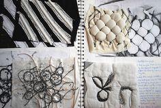 43 Ideas Fashion Sketchbook Pages Texture For 2019 Fashion Sketchbook, A Level Art Sketchbook, Sketchbook Layout, Arte Sketchbook, Sketchbook Pages, Sketchbook Inspiration, Sketchbook Ideas, Textile Texture, Textile Art