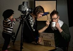 Fotoblur - behind the scenes by Dave Engledow
