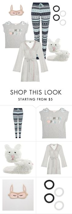 """Snoozin"" by calgarysarah on Polyvore featuring George, Skylar Luna, Aerie and M&Co"